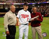 Minnesota Twins - Rod Carew, Tony Oliva, Joe Mauer Photo Photo