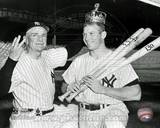 New York Yankees - Mickey Mantle, Casey Stengel Photo Photo
