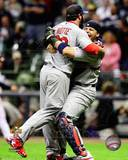 St Louis Cardinals - Yadier Molina, Jason Motte Photo Photo