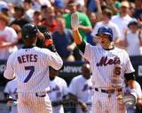 New York Mets - Jose Reyes, David Wright Photo Photo