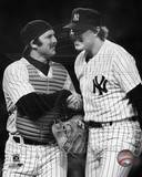New York Yankees - Thurman Munson, Rich Gossage Photo Photographie