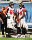Atlanta Falcons - Tony Gonzalez, Roddy White Photo Photo
