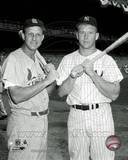 New York Yankees, St Louis Cardinals - Mickey Mantle, Stan Musial Photo Photo