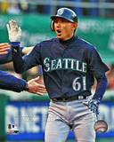 Seattle Mariners - Munenori Kawasaki Photo Photo