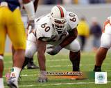 Miami Hurricanes - Vernon Carey Photo Photo