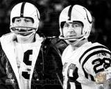 Baltimore Colts - Johnny Unitas, Jimmy Orr Photo Photo