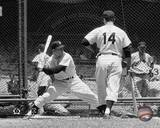 New York Yankees - Mickey Mantle, Bill Skowron Photo Photo