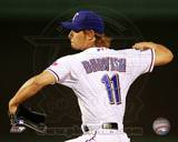 Texas Rangers - Yu Darvish Photo Photo