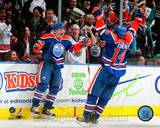 Edmonton Oilers - Jordan Eberle, Ryan Nugent-Hopkins Photo Photo