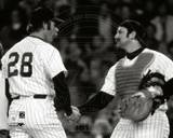 New York Yankees - Thurman Munson, Sparky Lyle Photo Photo