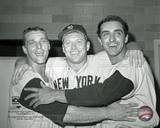 New York Yankees - Mickey Mantle, Roger Maris, Joe Pepitone Photo Photo