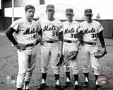 New York Mets - Nolan Ryan, Jerry Koosman, Tom Seaver, Gary Gentry Photo Photo