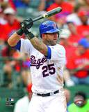 Texas Rangers - Mike Napoli Photo Photo