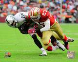 Oakland Raiders, San Francisco 49ers - Louis Murphy, Taylor Mays Photo Photo