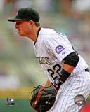 Colorado Rockies - Jordan Pacheco Photo Photo