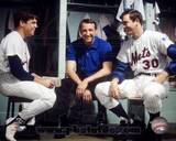 New York Mets - Nolan Ryan, Jerry Koosman, Tom Seaver Photo Photo