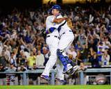 Los Angeles Dodgers - Kenley Jansen, A.J. Ellis Photo Photo
