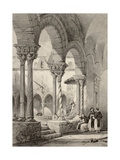 Cloister Of San Domenico Church In Palermo, Italy Prints by  marzolino