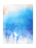 Abstract Textured Background: Blue And White Patterns Posters by  iulias