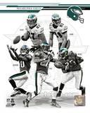 Philadelphia Eagles - Michael Vick, Brent Celek, DeSean Jackson, Jason Avant, LeSean McCoy Photo Photo