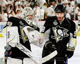 Pittsburgh Penguins - Marc-Andre Fleury, Kris Letang Photo Photo
