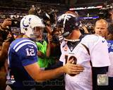 Denver Broncos, Indianapolis Colts - Peyton Manning, Andrew Luck Photo Photo