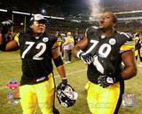 Pittsburgh Steelers - Trai Essex, Darnell Stapelton Photo Photo