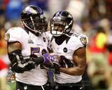 Baltimore Ravens - Ray Lewis, Ed Reed Photo Photo