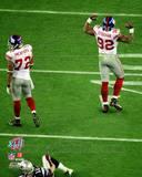 New York Giants - Michael Strahan, Osi Umenyiora Photo Photo