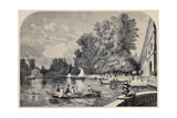 Antique Illustrations Of Fontainebleau Basin And Castle Posters by  marzolino