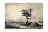 Antique Illustrations Of Palermo Surroundings, Italy Reprodukcje autor marzolino