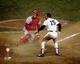Cincinnati Reds, New York Yankees - Johnny Bench, Thurman Munson Photo Photo