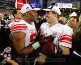 New York Giants - Michael Strahan, Eli Manning Photo Photo