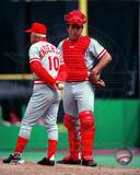 Cincinnati Reds - Johnny Bench, Sparky Anderson Photo Photo
