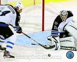 Winnepeg Jets - Zach Bogosian, Ondrej Pavelec Photo Photo