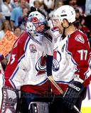 Colorado Avalanche - Patrick Roy, Ray Bourque Photo Photo