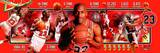 Chicago Bulls - Michael Jordan Panoramic Photo Photo