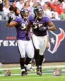 Baltimore Ravens - Ray Lewis, Terrell Suggs Photo Photo