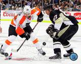 Pittsburgh Penguins, Philadelphia Flyers - Sidney Crosby, Claude Giroux Photo Photo