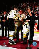 Boston Bruins - Phil Esposito, Ray Bourque Photo Photo