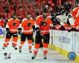 Philadelphia Flyers - Mike Richards, Claude Giroux, Jeff Carter Photo Photo
