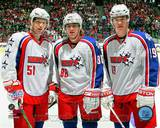 Chicago Blackhawks - Jonathan Toews, Patrick Kane, Brian Campbell Photo Photo