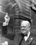 Historical - Winston Churchill Photo Photographie