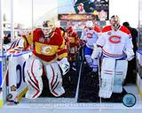 Calgary Flames, Montreal Canadiens - Miikka Kiprusoff, Carey Price Photo Photo