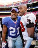 New York Giants, Tampa Bay Buccaneers - Tiki Barber, Ronde Barber Photo Photo