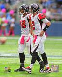 Atlanta Falcons - Matt Ryan, Roddy White Photo Photo