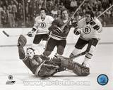 Boston Bruins, Chicago Blackhawks - Phil Esposito, Tony Esposito Photo Photo