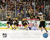 Boston Bruins - Johnny Boychuk, Tyler Seguin, Brad Marchand, Patrice Bergeron Photo Photo