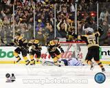 Boston Bruins - Johnny Boychuk, Tyler Seguin, Brad Marchand, Patrice Bergeron Photo Photo