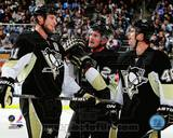 Pittsburgh Penguins - Matt Cooke, Jordan Staal, Tyler Kennedy Photo Photo